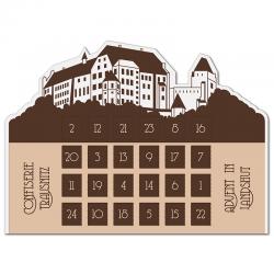 Calendario de Adviento Günstig Kontur Granos de chocolate