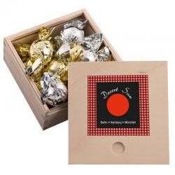 Caja de bombones Madera Mini