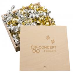 Caja de bombones Madera Midi