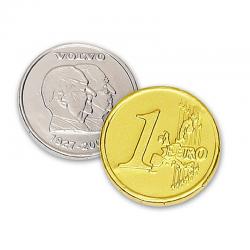 Moneda de chocolate 75