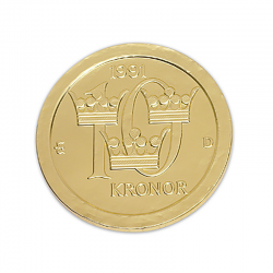 Moneda de chocolate 125