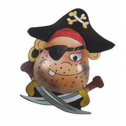 Pirata de chocolate