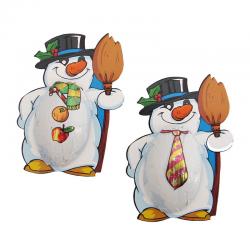 Muñeco de nieve de chocolate Mr. Freeze