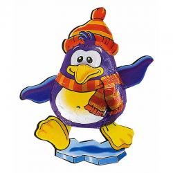 Pingüino de chocolate