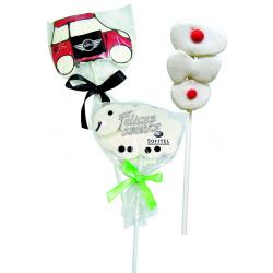 Piruleta marshmallow