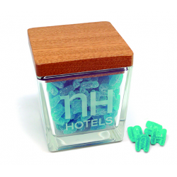 Caramelera cuadrada cristal pequeña