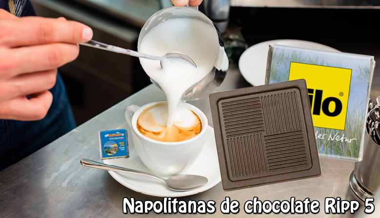 Napolitanas de chocolate